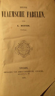 Nieuwe Vlaemsche Fabelen - Door L. Nuttin - 1860 - Uitg. Te Ieper Bij Lafonteyne - Sprookjes Verhalen Legenden Folklore - Non Classificati