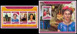 TOGO 2017 - F. Kahlo, Handicapped Painter - YT 5630-3 + BF1270; CV=39 € [TG17221] - Handicaps