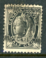 Canada USED 1897-98 Maple Leaf Issue - Used Stamps