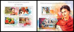 TOGO 2014 - F. Kahlo, Handicapped Painter - YT 3728-31 + BF796; CV=31 € [TG14110] - Handicaps