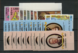 1982, Liberia, 1236-46 U.a., ** - Liberia