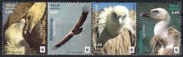 Croatia 2017 MiNr. 1259 - 1262  Kroatien Birds Of Prey Griffon Vulture WWF 4v MNH** 5,60 € - Croatia