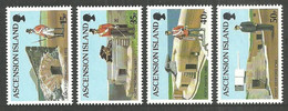 ASCENSION 2000 MILITARY FORTS UNIFORMS SET MNH - Ascension