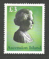 ASCENSION 2003 ROYALTY QUEENS HEAD SET MNH - Ascension