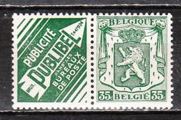 PU89**  Petit Sceau De L'Etat - Publibel - Bonne Valeur - MNH** - LOOK!!!! - Publicités
