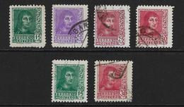 ESPAÑA. Edifil Nsº 841/44A Usados - 1931-50 Usati