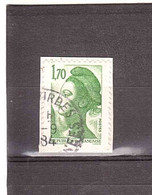 1984 1,70 USATO - 1982-90 Liberty Of Gandon