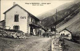 CPA Prapremier Pra Premier Arvieux Hautes Alpes, Grand Cafe Alpins - Andere Gemeenten