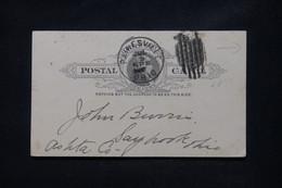 ETATS UNIS - Entier Postal Avec Repiquage Commercial De Painesville En 1894 - L 108773 - ...-1900