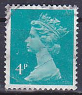 Série Courante à L'effigie D'Elizabeth II - Tp De 1979/80 - 4p Bleu- Turquoise  - Y&T N° 900 - Obli - Used - Départ 50% - Used Stamps