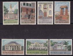 Surinam 1961, 7 Stamps Vfu - Surinam
