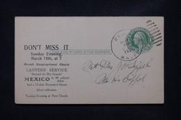 ETATS UNIS - Entier Postal Avec Repiquage Commercial De Wells Voyagé En 1928 - L 108787 - 1921-40
