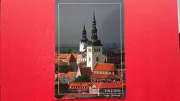 Tallinn.The Niguliste Church And The Dome Church - Estonie