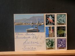 95/462  CP  ESPAGNE POUR LA SUISSE  1964 - 1961-70 Storia Postale