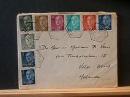 95/464LETTRE  ESPAGNE POUR LA HOLLANDE 1970 - 1961-70 Storia Postale