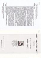 "Deutschland BRD. Ersttagsblatt 12/1979 ""Anne Frank"" (7.022) - Brieven En Documenten"