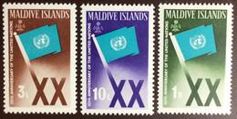 Maldives 1965 United Nations MH - Maldives (...-1965)