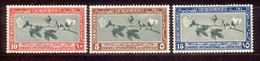 Ägypten Egypt 1927 - Michel Nr. 116 - 118 * - Unused Stamps