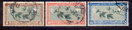 Ägypten Egypt 1927 - Michel Nr. 116 - 118 O - Used Stamps