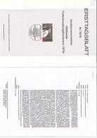"""Deutschland BRD. Ersttagsblatt 15/1979 """"Funkverwaltungskonferenz"""" (7.025) - Brieven En Documenten"""