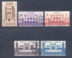 Ägypten Egypt 1936 - Michel Nr. 208 - 212 O - Used Stamps