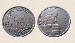 !!! FRANCIA 100 FRANCHI 1955 !!! - N. 100 Francs