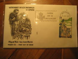 1982 Edifil 2684 Centenario Padres Salesianos Religion SPD FDC Spain - FDC