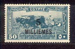 Ägypten Egypt 1926 - Michel Nr. 105 * - Unused Stamps