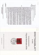 """Deutschland BRD. Ersttagsblatt 21/1979 """"Tag Der Briefmarke"""" (7.030) - Brieven En Documenten"""