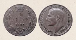 !!! JUGOSLAVIA 1 DINARO 1925 !!! - Yugoslavia