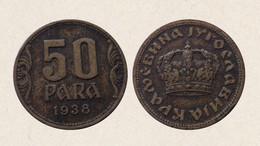 !!! JUGOSLAVIA 50 PARA 1938 !!! - Yugoslavia
