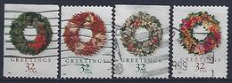 USA  1998  Christmas (o) Mi.3051-3054 - Used Stamps