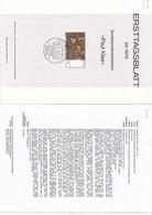 "Deutschland BRD. Ersttagsblatt 24/1979 ""Paul Klee"" (7.033) - Brieven En Documenten"