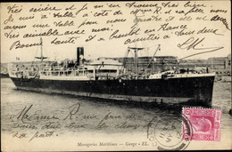 CPA Frachtschiff Gange, Compagnie Des Messageries Maritimes - Non Classificati
