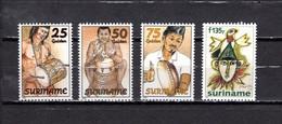 Surinam   1994  .-   Y&T  Nº   1312/1315   ** - Surinam