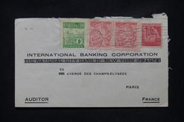 CUBA - Enveloppe Commerciale De Habana Pour Paris En 1951 - L 108819 - Covers & Documents