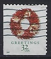 USA  1998  Christmas (o) Mi.3056 BE  (small Format) - Used Stamps