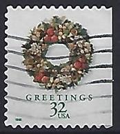 USA  1998  Christmas (o) Mi.3057 BD  (small Format) - Used Stamps