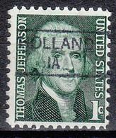 USA Precancel Vorausentwertungen Preos, Locals Iowa, Holland 835.5 - Voorafgestempeld