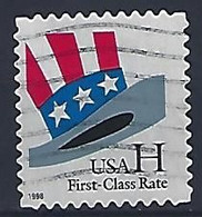 USA  1998  Uncle Sams Hat (o) Mi.3060  BA - Used Stamps