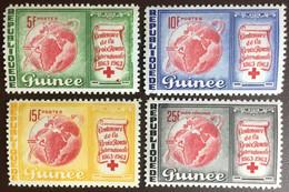 Guinea 1963 Red Cross MNH - Guinee (1958-...)