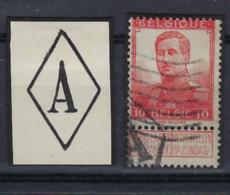 """Nr. 111 Met ZELDZAME Stempel """" A """" In Ruit  ; Staat Zie Scan ! LOT 390 - 1912 Pellens"""