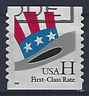USA  1998  Uncle Sams Hat (o) Mi.3060  BG - Gebraucht