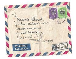 UAE Registered Airmail Cover To Pakistan. - Dubai