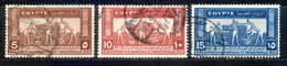 Ägypten Egypt 1931 - Michel Nr. 153 - 155 O - Used Stamps