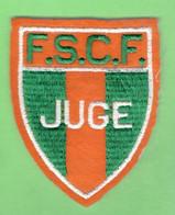 INSIGNE TISSU BRODE JUGE FEDERATION SPORTIVE ET CULTURELLE DE FRANCE FSCF - Altri