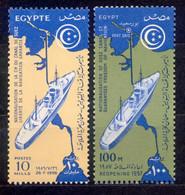 Ägypten Egypt 1956, 1957 - Michel Nr. 495 ** + 503 ** - Unused Stamps