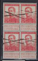 Pellens Nr. 118 ( 4 X ) Annulation CROIX DE ST ANDRE. Rare. TB Et Sans Défauts.LOT 390 - 1912 Pellens