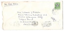 UAE Airmail Cover To Pakistan. - Dubai