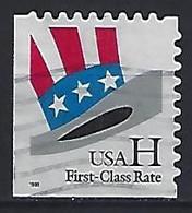 USA  1998  Uncle Sams Hat (o) Mi.3060  BI - Gebraucht